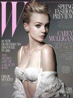Carey Mulligan, inocente a la par que sexy en la portada de W Magazine