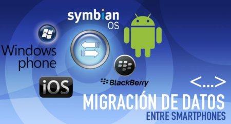 Migración de datos entre smartphones: Windows Phone 7