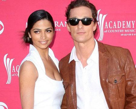 Matthew McConaughey y Camila Alves se casan