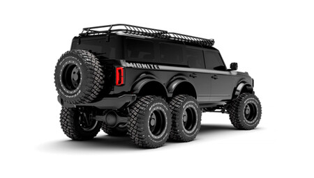 El Ford Bronco 6x6 de Maxlider Brothers Customs