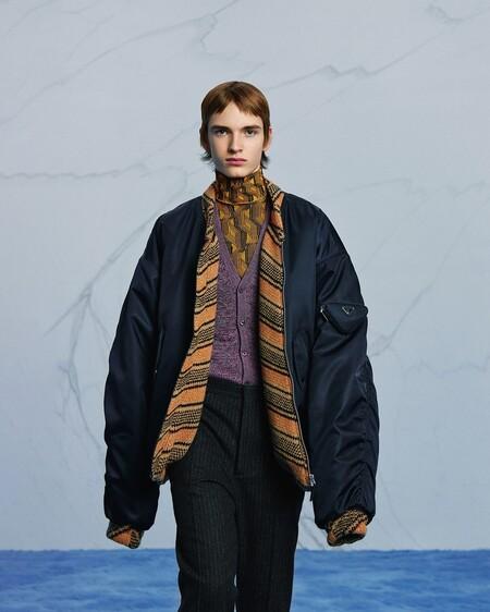 Las tendencias del desfile de invierno de Prada que dejan ver más el trabajo de Raf Simons en la firma