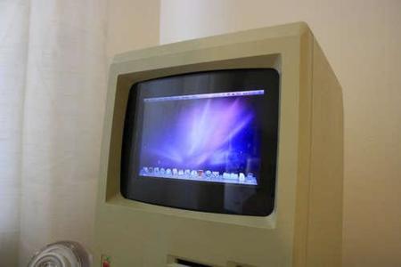 Imágen de la semana: Consigue arrancar Snow Leopard en un Macintosh original