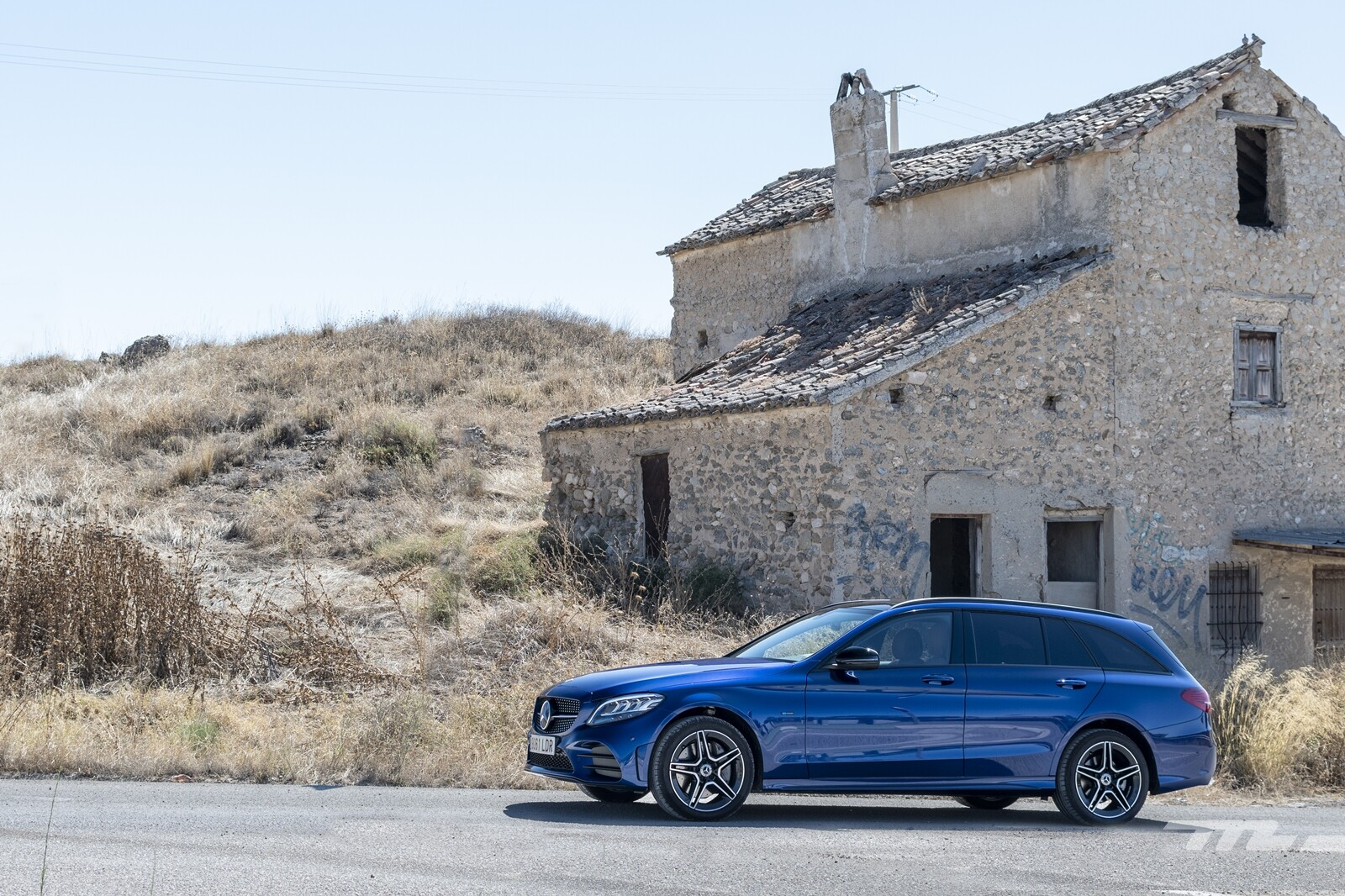 Foto de Mercedes-Benz C 300 de Estate 2020, prueba (39/46)