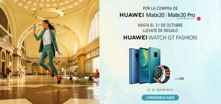 Reloj Huawei De Regalo Con Los Mate 20 Y Mate 20 Pro