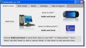 RSS en la PSP