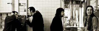 Una sesión con una banda de Rock