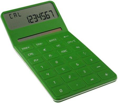 Calculadora Eco de Lexon