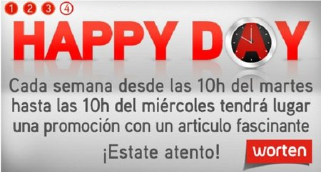 Cada martes 'Happy day' en Worten