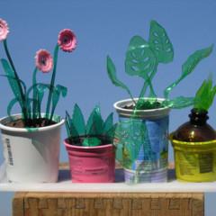 Foto 4 de 7 de la galería plantas-artificiales-hechas-con-botellas-de-plastico en Decoesfera