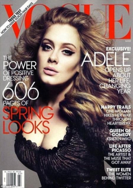 Acordes afinados, sinfonía perfecta. Adele para Vogue USA