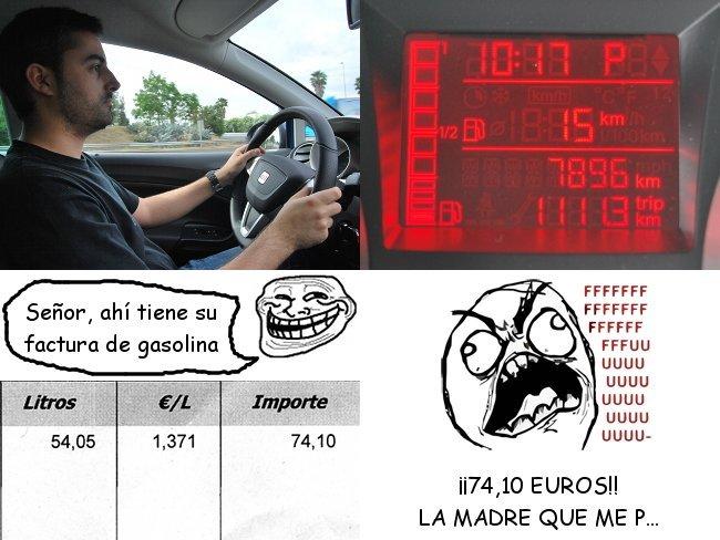 Precios de la gasolina y el gasóleo