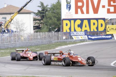 Pironi Villeneuve Imola F1 1982