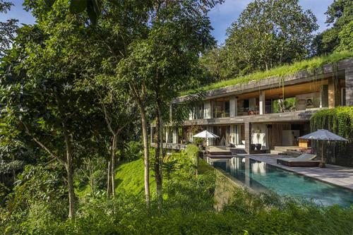 ¿Buscas un lugar exótico dónde hospedarte en tus próximas vacaciones? Esta villa en la selva de Bali podría ser una solución
