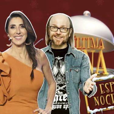 Paz Padilla y Santiago Segura se enfrentarán a María del Monte y Toñi Moreno en 'La Última Cena' esta Nochebuena