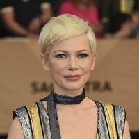 Michelle Williams con el diseño más brillante de Louis Vuitton en los SAG Awards 2017