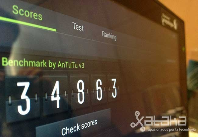Qualcomm Snapdragon 800 en AnTuTu