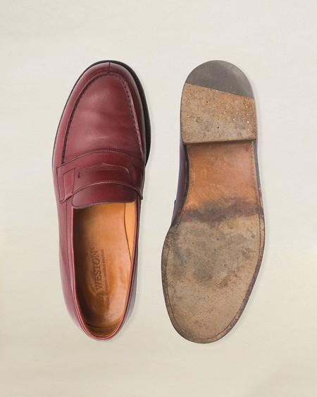 J M Weston Se Suma A La Lucha Del Reciclaje Restaurando Zapatos Viejos Para Crear Una Nueva Coleccion