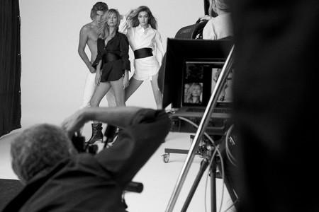 Gigi Hadid y Kate Moss posan juntas por primera vez en una campaña de moda (la de Stuart Weitzman)