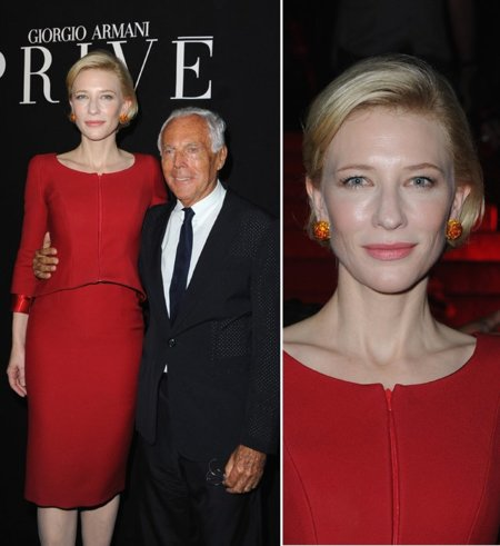 Cate Blanchett Armani Privé