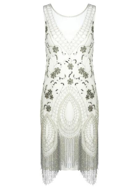 vestido blanco missselfridge
