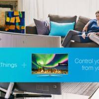 ¿Controlando el hogar conectado desde la tele? Será posible con Samsung SmartThings