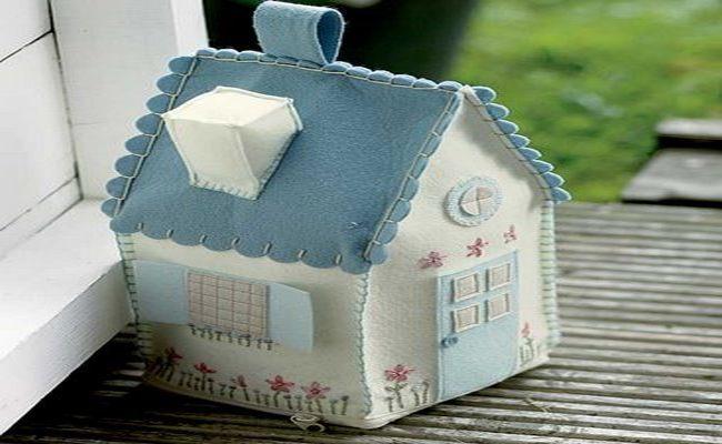 Manualidades para decorar la habitaci n del beb - Casas de patchwork ...