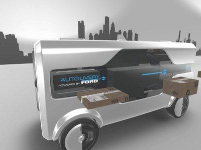 Demos la bienvenida a la obsolescencia del repartidor: pronto, los vehículos autónomos con drones harán su trabajo