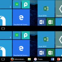 Cómo hacer que el modo tablet de Windows 10 muestre las apps abiertas en la barra de tareas