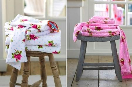 Llena tu casa de lunares y flores con los nuevos textiles de Gamanatura