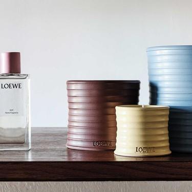 Loewe lanza su primera colección de fragancias para el hogar llevando su estilo a la decoración de nuestras casas
