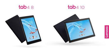 Lenovo Tab 4 8 y Tab 4 10: sus dos nuevos tablets pensados para toda la familia