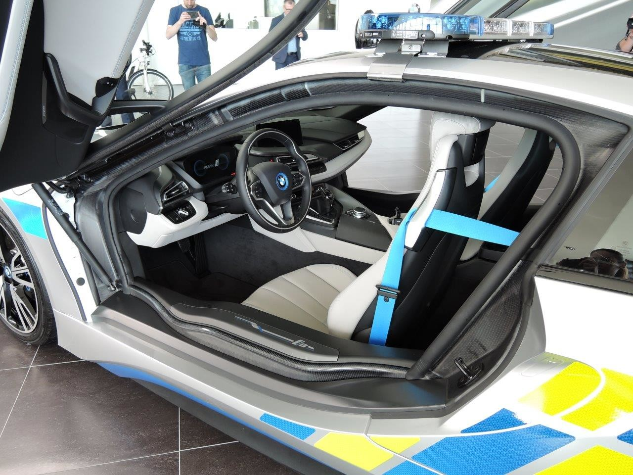 Foto de BMW i8 Policía República Checa (1/8)