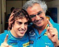 ¿Alonso y Briatore separados?