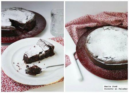 Pastel de mousse de chocolate. Receta