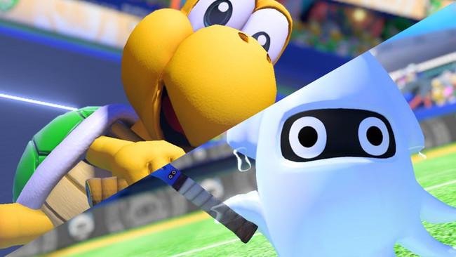 Mario Tennis Aces Koopa Blooper