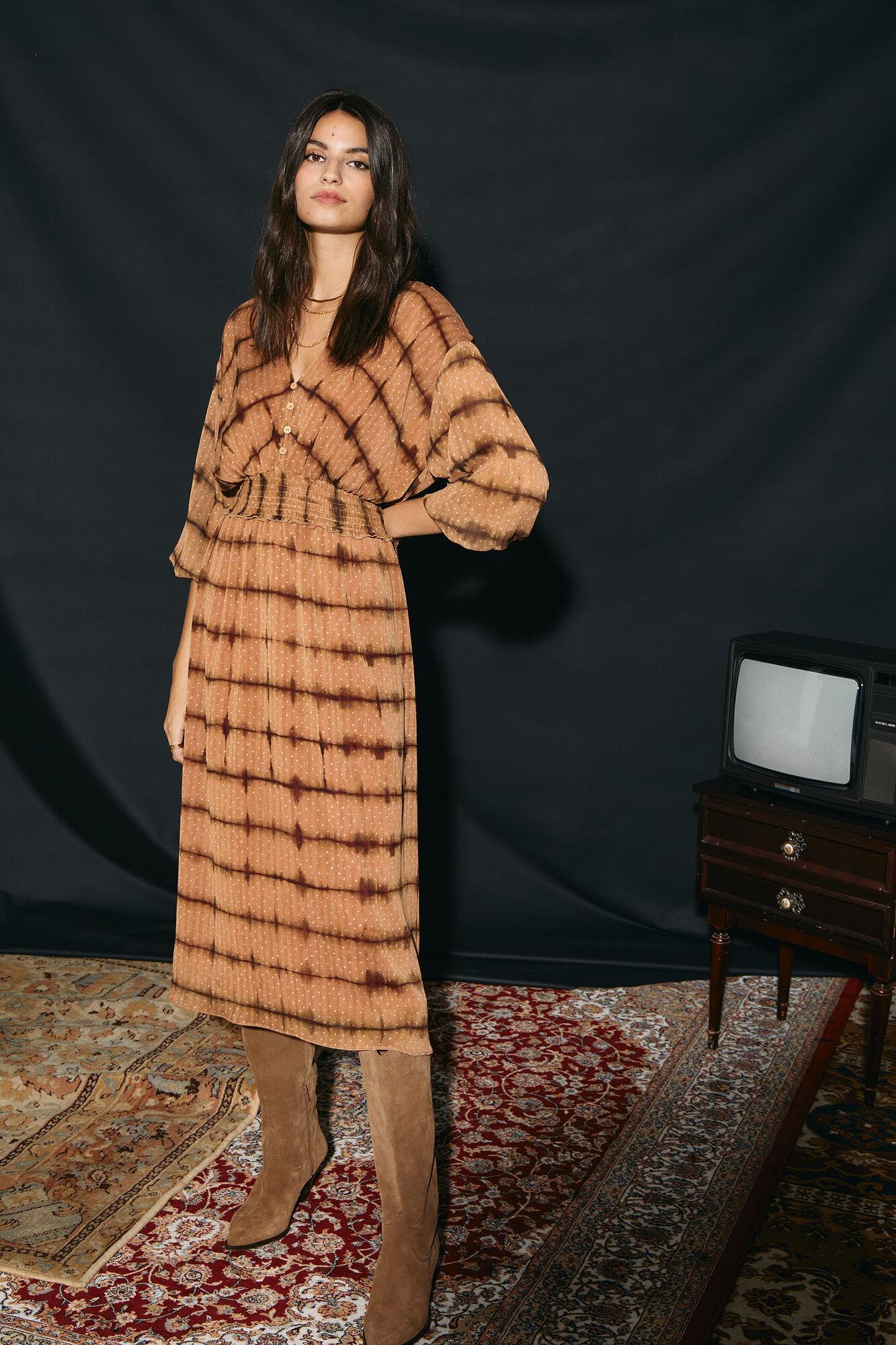 Vestido estampado de Slowlove