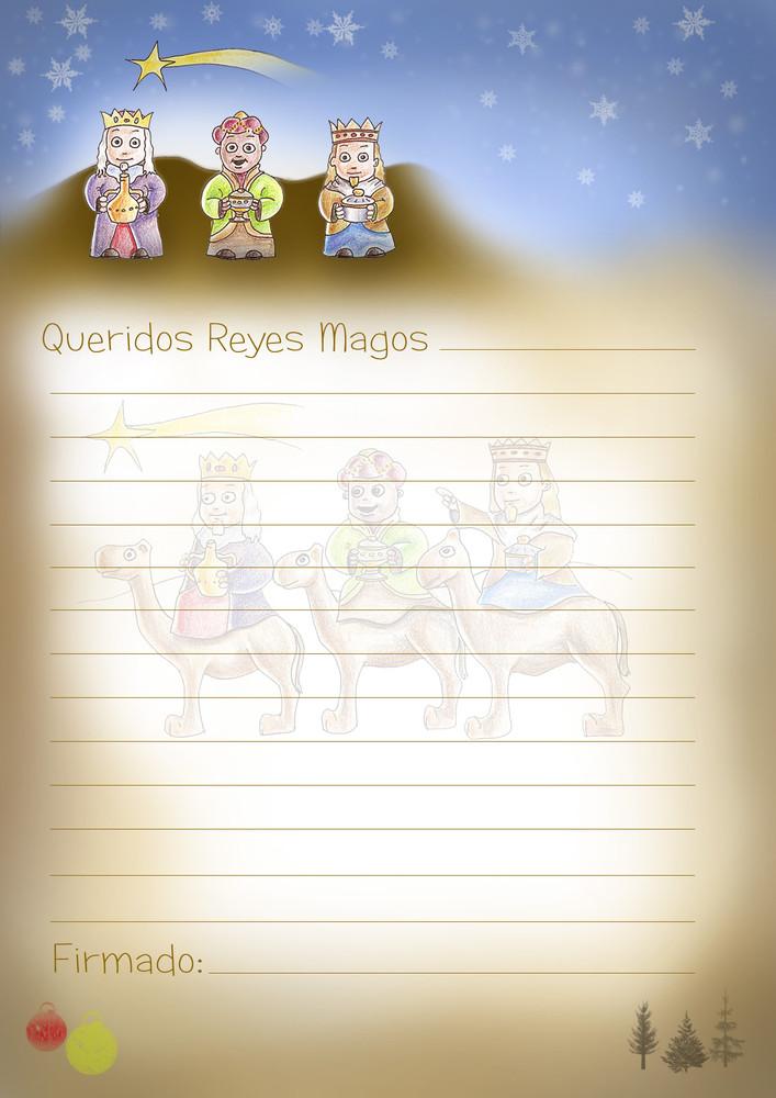Worksheet. Cartas para los Reyes Magos exclusivas de Bebs y ms Navidad11