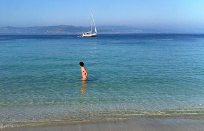 Figueiras, la playa nudista de las Islas Cíes