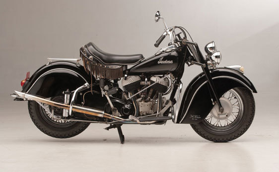 Foto de A subasta la motocicleta Indian Chief de 1946 que perteneció a Steve McQueen (8/19)