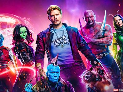 'Guardianes de la Galaxia vol. 2', ambicioso atracón de color y space opera (rock)