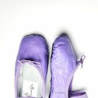 zapatos bebe lilas