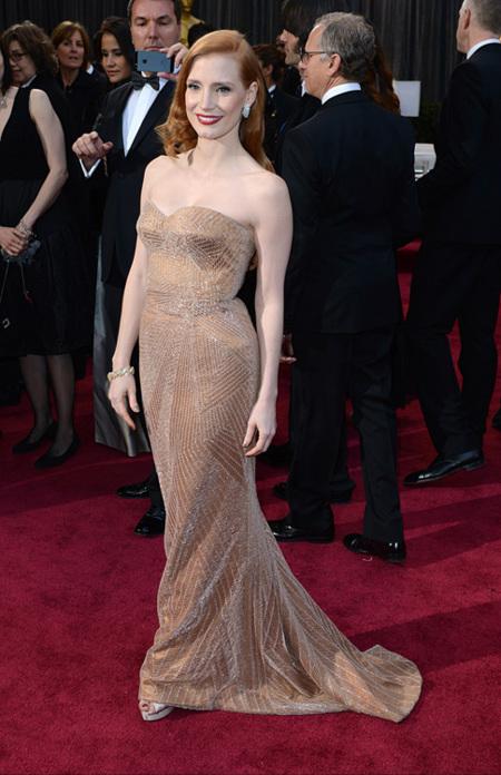 Jessica Chastain Oscar 2013