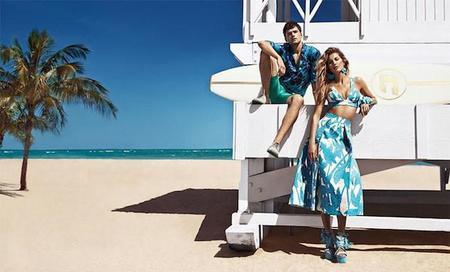 Colcci reúne en su campaña de SS15 a los dos modelos mejor pagados del mundo