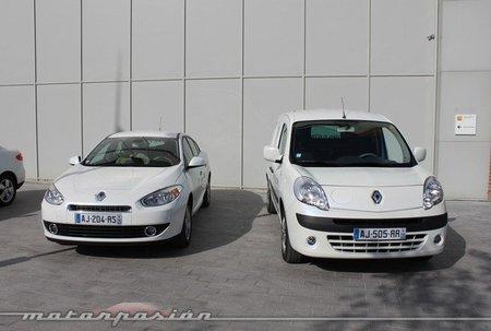 Renault Fluence Z.E. y Kangoo Z.E.