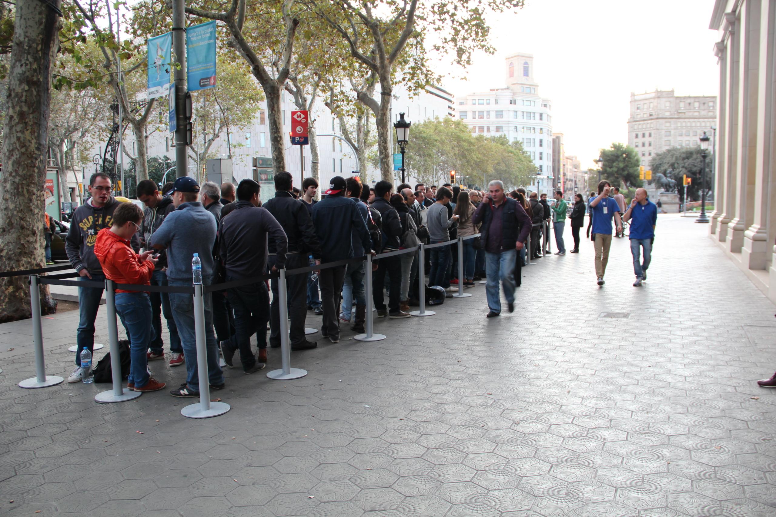 Foto de Lanzamiento del iPad Air en Barcelona (3/30)