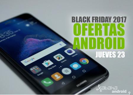 Black Friday 2017: ofertas del día 23 en móviles y accesorios Android