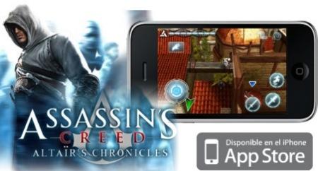 Assassin´s Creed crónicas de Altair, nuevo juego de Gameloft