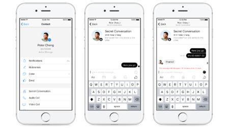 Facebook Messenger anuncia sus nuevas conversaciones secretas con cifrado end-to-end