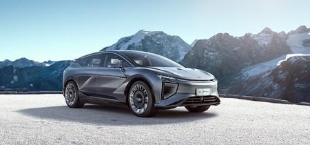 El último SUV eléctrico chino se llama HiPhi-1 y es un enorme 'transformer' que estará a la venta en dos años