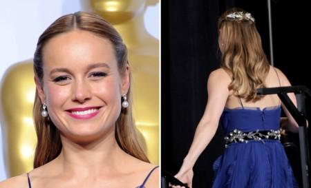 Brie Larson Oscar Recogido